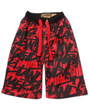 Arcade Styles - TAG DA CITY SHORTS (8-20)