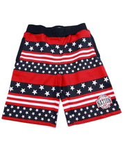 Sizes 8-20 - Big Kids - STARS & STRIPES SHORTS (8-20)