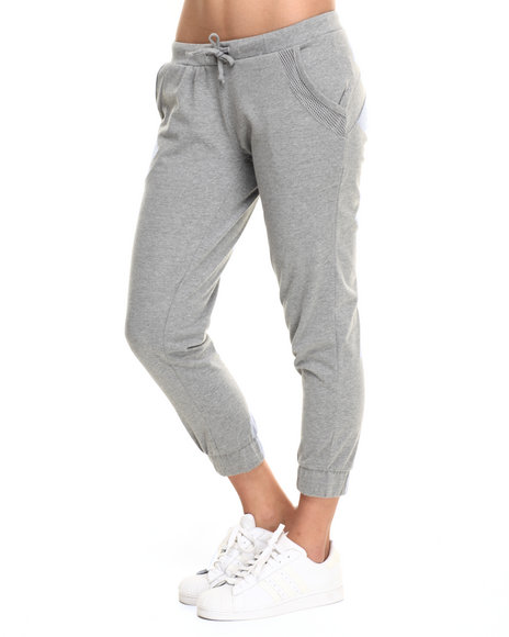 Baby Phat - Women Grey Active Capri Jogger