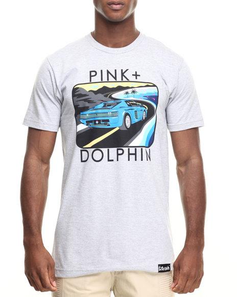 Pink Dolphin - Men Grey Portrait 10 S/S Tee