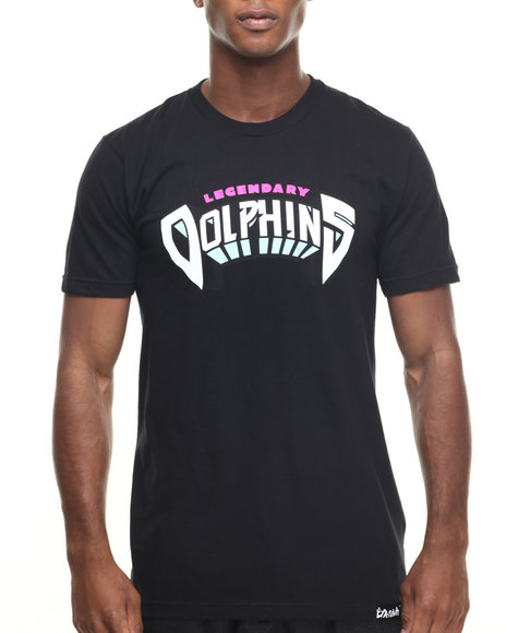 Pink Dolphin - Men Black Legendary Dolphins S/S Tee