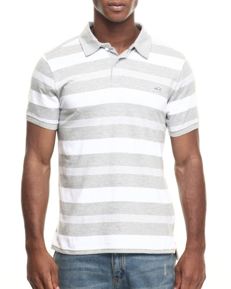 Ecko - Men Grey One The Rise Stripe Polo