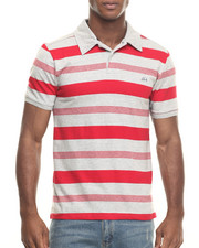 Men - One the Rise Stripe Polo
