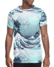 Men - TSUNAMI ALLOVER - PRINT S/S TEE