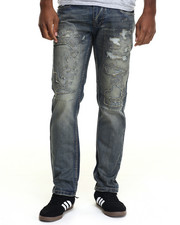 Buyers Picks - Rip - Off Straight - Fit Denim Jeans