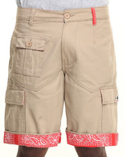 Men - San Antonio detail Interior Trim Cargo Shorts
