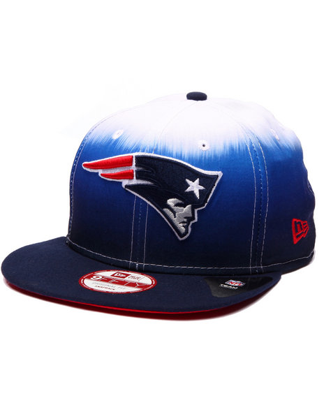 New Era Men New England Patriots Sublender 950 Snapback Hat Blue