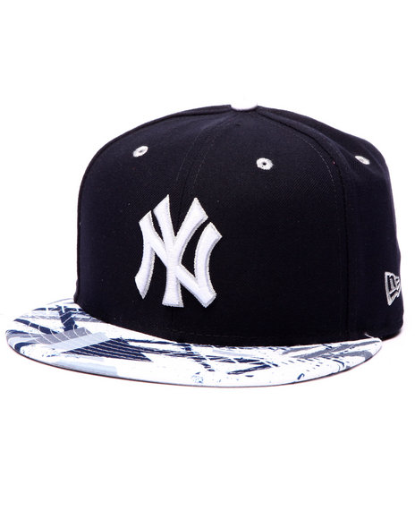 New Era - Men Navy New York Yankees Geomet Trick 5950 Fitted Hat
