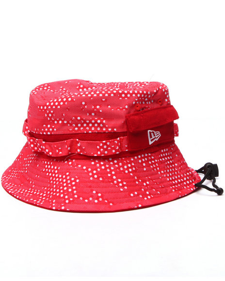 New Era - Men Red Dot Collide Bucket Hat