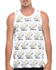 Men - Money Flys Mesh Jersey Tank