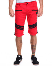 Men - Striker Moto Denim Shorts