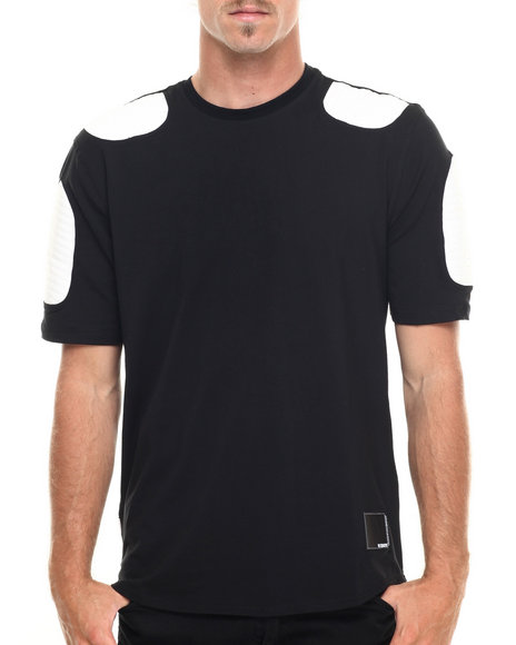 Hudson Nyc - Men Black Striker Moto S/S Tee