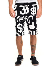 Men - World Money Shorts