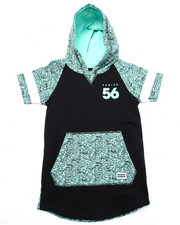 Sizes 4-7x - Kids - S/S PRINTED POPOVER HOODY (4-7)