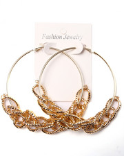 Jewelry - Chains Large Hoop Earrings