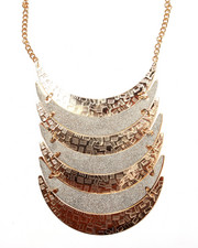 Jewelry - Hammered & Layered Bib Necklace