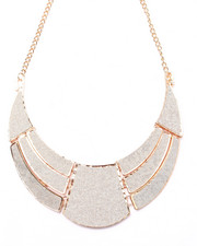 Jewelry - Gold & Glitter Collar Necklace