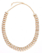 Jewelry - Gold & Glitter Scales Necklace