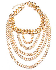 Jewelry - 6 Chains Drape Necklace
