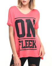 Tees - On Fleek Oversized Tee