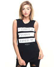 Tees - F&P Raised Me Muscle Tee