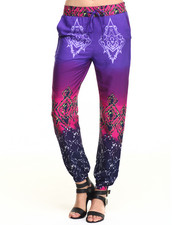 Bottoms - Ombre Print Soft Jogger