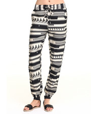 Bottoms - Chevron Print Soft Jogger