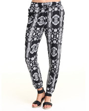 Bottoms - Aztec Print Soft Jogger