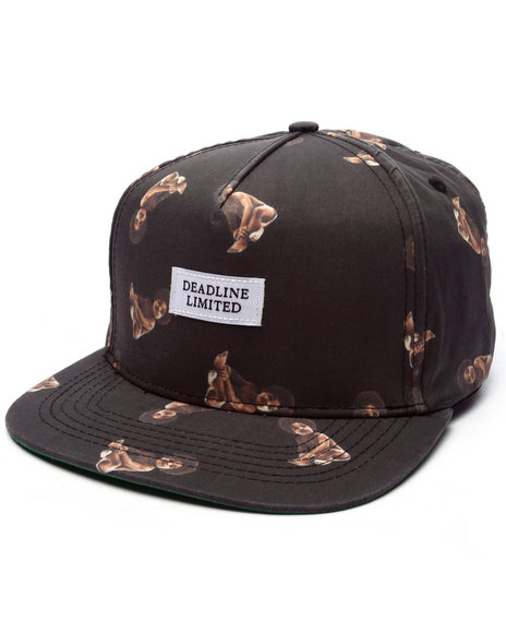 Ur-ID 223308 Deadline - Men Black Biggie Baby Strapback Cap