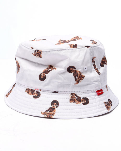 Ur-ID 219691 Deadline - Men White Biggie Baby Bucket Hat