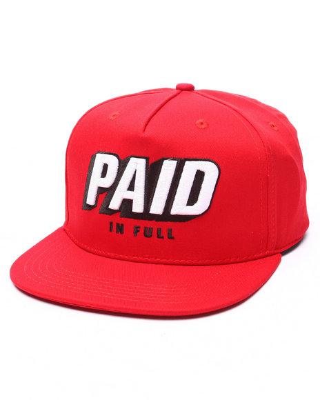 Ur-ID 223311 Rocksmith - Men Red Paid Snapback