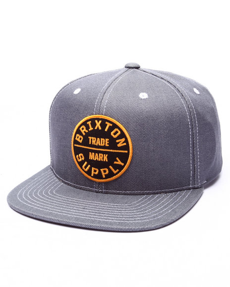 Brixton Men Oath Iii Snapback Cap Light Blue