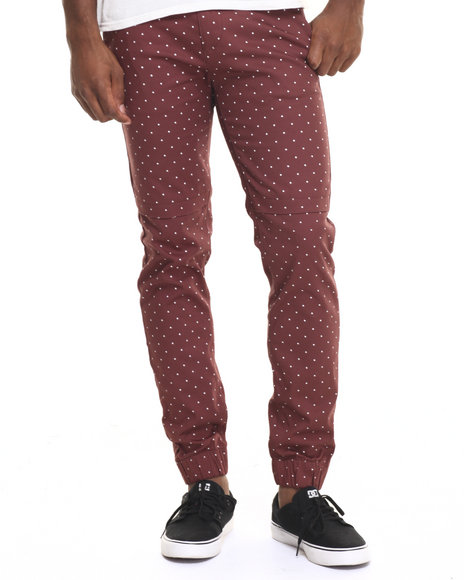 Basic Essentials Maroon Jeans