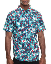 LRG - RC Printed S/S Button-Down