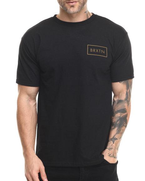 Ur-ID 219757 Brixton - Men Black Rift Standard Tee