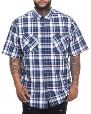 Ecko - Blue Danish S/S Button-Down (B&T)