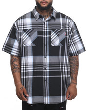Ecko - Black Bean S/S Button-Down (B&T)