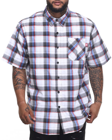 Ecko - Men Blue Blue Chiffon S/S Button-Down (B&T)