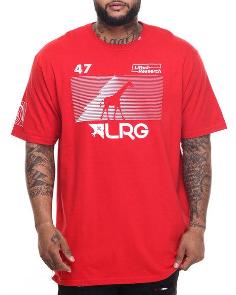Lrg - Men Red Rc Multi Hit T-Shirt (B&T) - $32.00