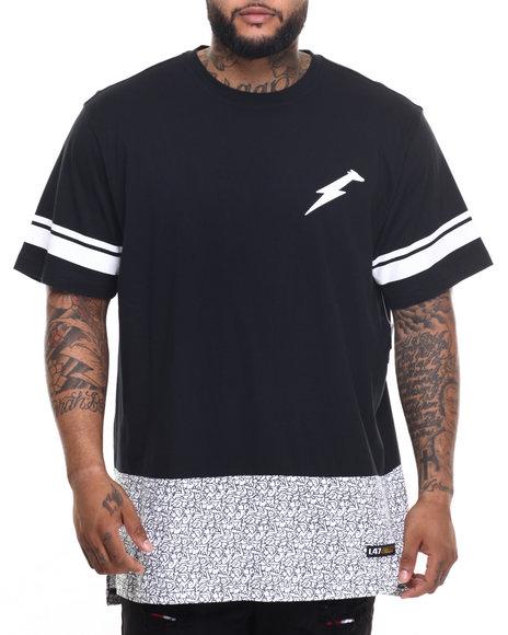 Lrg - Men Black Le Sport T-Shirt (B&T)