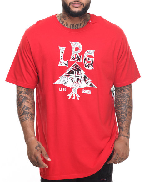 Lrg - Men Red Everywhere Lock Up T-Shirt (B&T) - $30.00