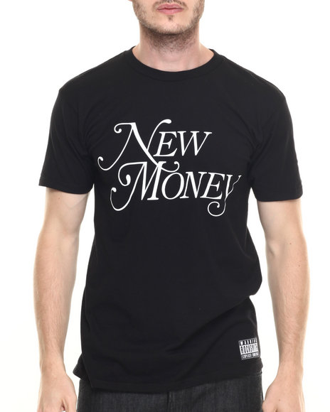 Rocksmith - Men Black New Money T-Shirt - $25.99