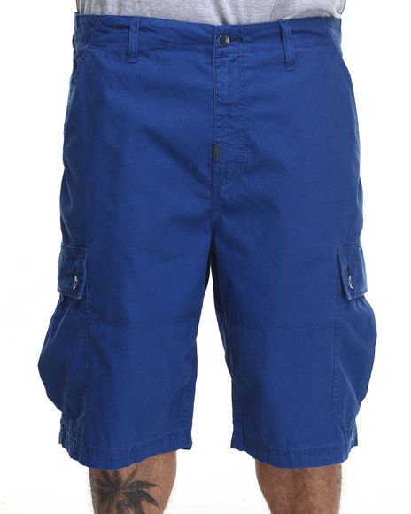 Lrg - Men Blue Rc Classic Cargo Short (B&T)
