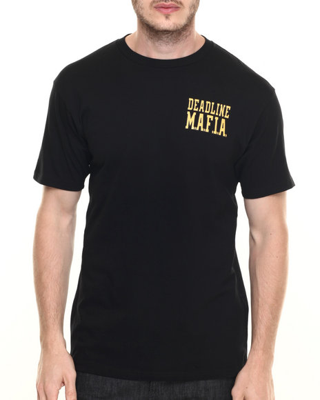 Ur-ID 219789 Deadline - Men Black Player's Anthem Tee