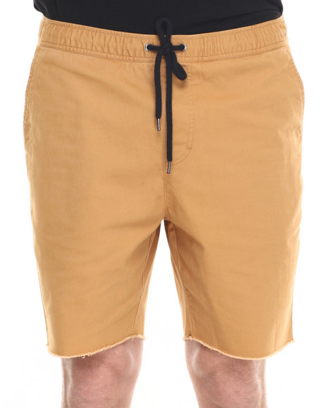 Brixton - Men Gold Madrid Relaxed Drawstring Shorts
