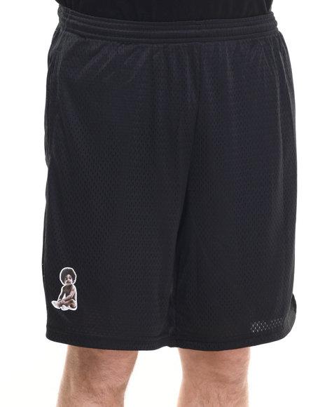 Ur-ID 219804 Deadline - Men Black Biggie Baby Champion Mesh Shorts
