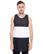 Men - Blocks Regime Mesh Drop Tank