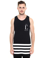 Men - League Side Zip Long Tank