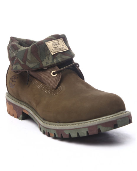 Ur-ID 219791 Timberland - Men Olive Timberland Icon Roll - Top Boots
