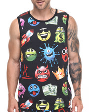Buyers Picks - Allover Emoji tank top